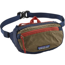 Patagonia LW Travel Mini Hip Pack Classic Navy/Mojave Khaki